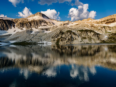 Glacier Lake Reflections