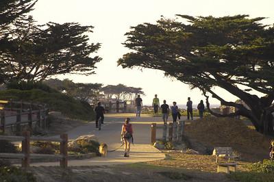 Ocean View trail.  Monterey, California