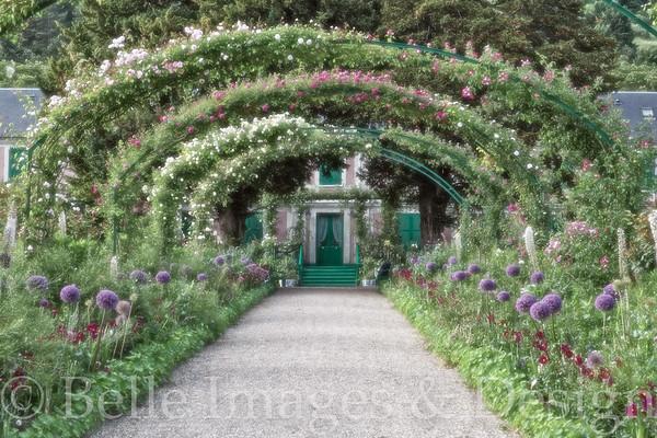 Garden Harmony, Monet's Garden