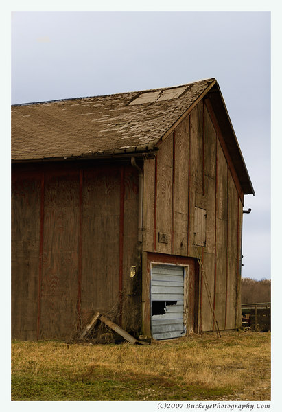 A barn on Ohio State Route 83 (Lorain County)