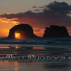 Twin Rocks Sunset #0786