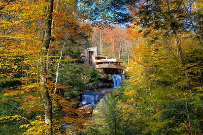 Fallingwater in Autumn