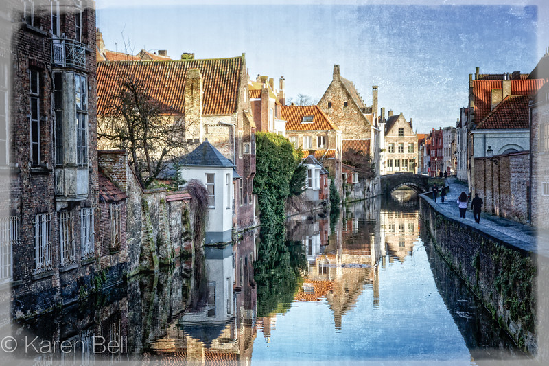 Canals of Bruges by Day