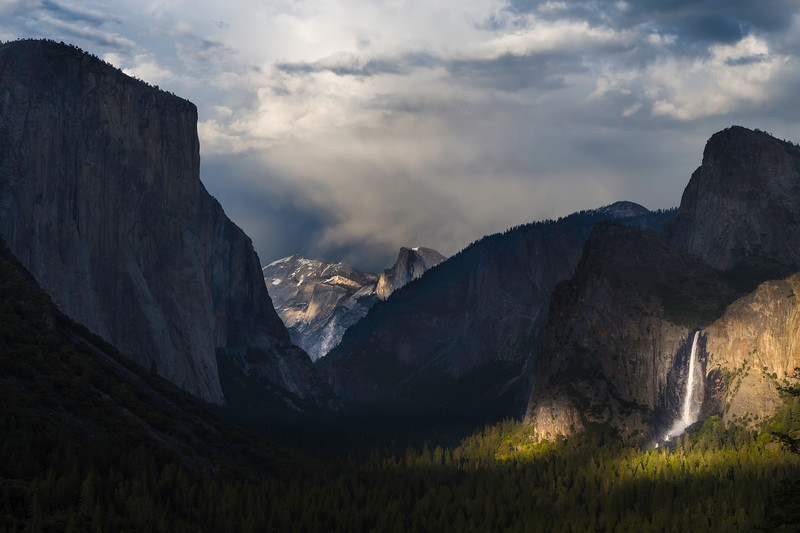 Last Light at Yosemite Tunnel View