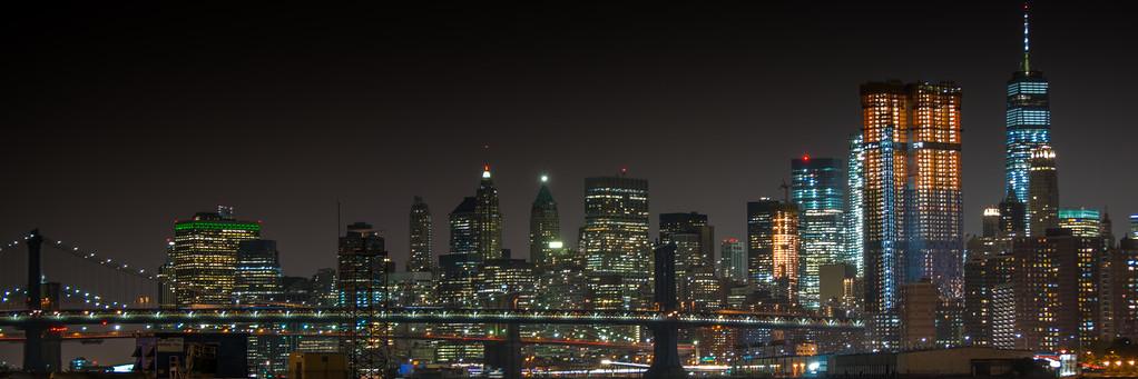 Manhattan City Scape
