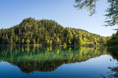 Alatsee, bei Füssen, Oberbayern, Deutschland