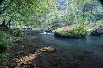 Edmundsklamm, Kamnitz, Hrensko, Tschechien