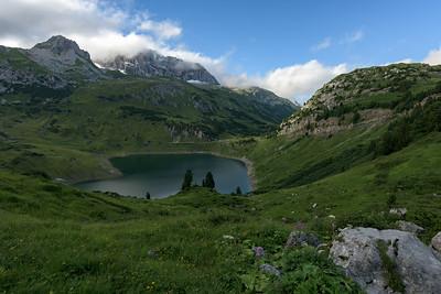 Formalinsee, Dalaas, Arlberg, Österreich