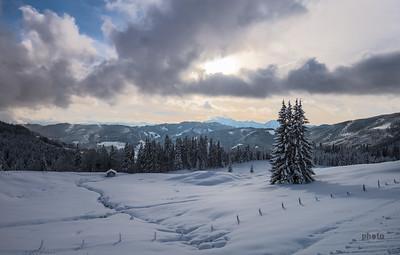 Winterwanderung auf die Kopphütte, Mühlbach am Hochkönig, Österreich