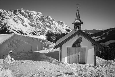 Aussicht auf dem Gabühel, Hinterthal, Österreich