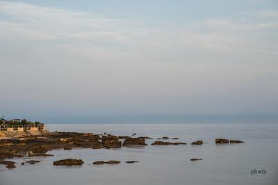 Meer bei Umag, Istrien, Kroatien