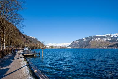 Zeller See, Blick Richtung Norden, Österreich