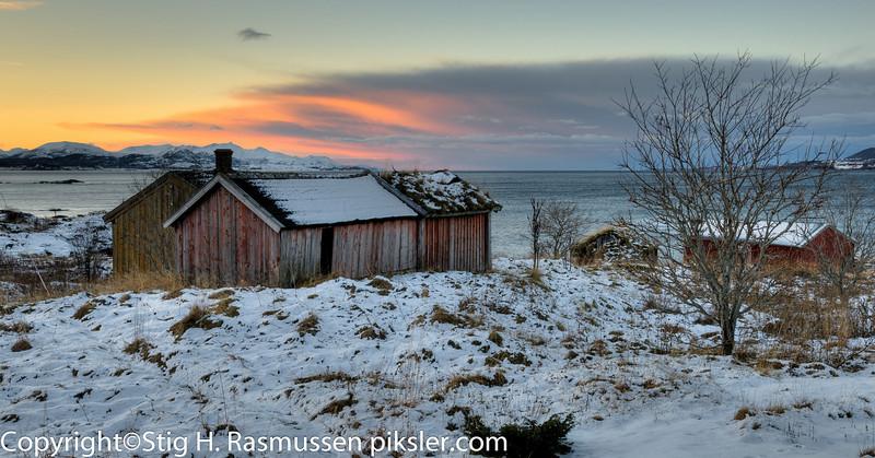 Motiv fra Ilstad utefor Bodø