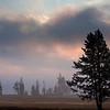 Early morning at Yellowstone Lake