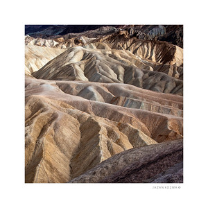 Badlands - Zabriskie Point, Death Valley