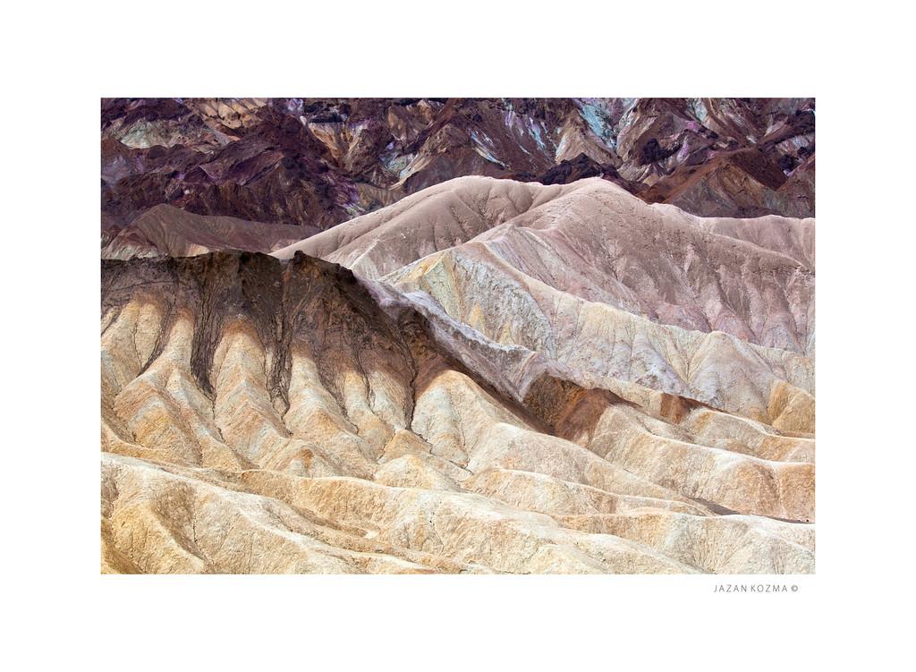 Badlands - Zabriskie Point, Death Valley