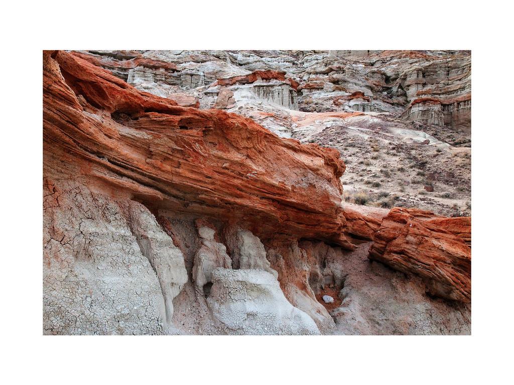 Red Ribbon- Hagen Canyon, Red Rock Canyon Natural Preserve, California.