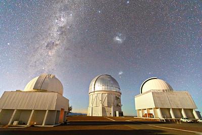 Night Sky Over Cerro Tolo - Chile