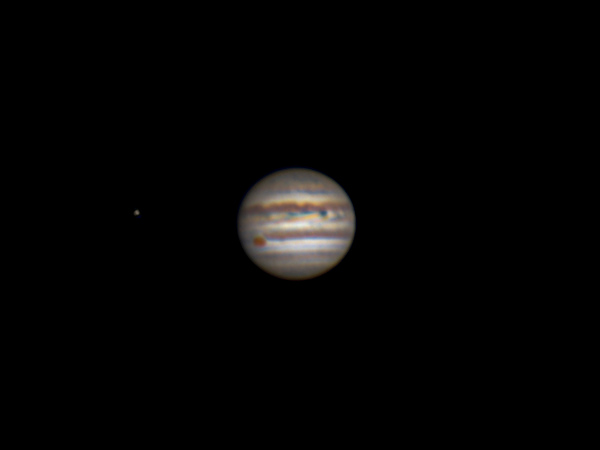 Io & Jupiter - 6 July 2018