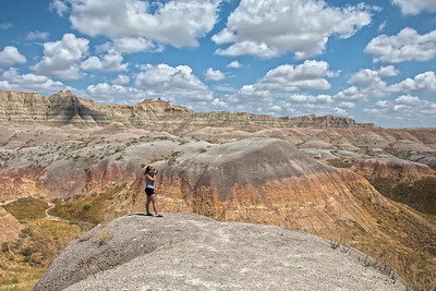 Framing Her Shot in the Badlands
