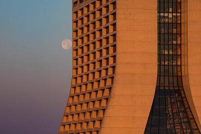 Mostly Full Moon & Wilson Hall