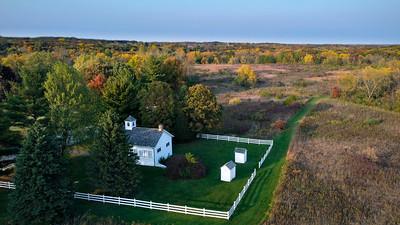 One-Room Schoolhouse - Leroy Oaks Forrest Preserve