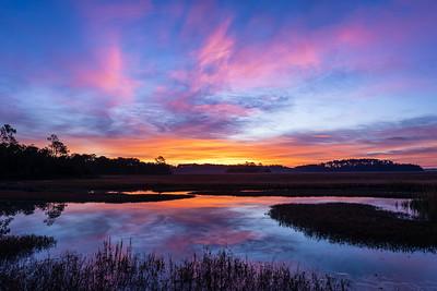 Pinckney Island Marsh Sunrise