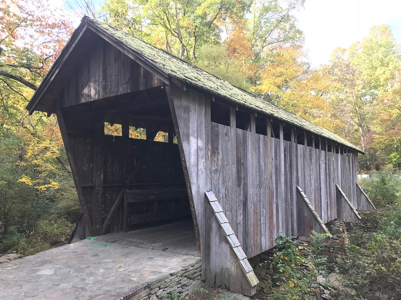 Pisgah Covered Bridge 2