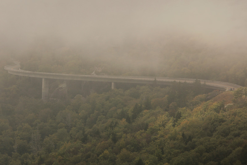 Linn Cove Viaduct Fog