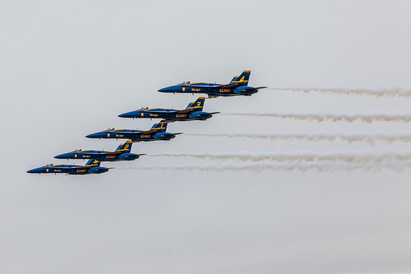 2018 Wings over Houston Air Show in Houston, Texas. Featured items included Blue Angels and other aviation related programs.