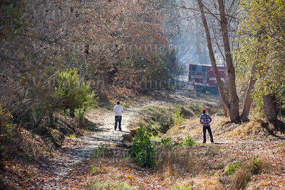 Gabilan Creek Fire - January 17, 2014