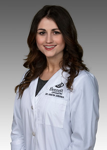 Dr. Kristin Dzierwa at Bennett Optometry, in Ann Arbor, Michigan.