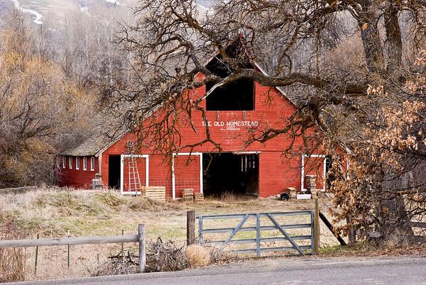 The Old Homestead 1869 - Wm. Mondor Barn