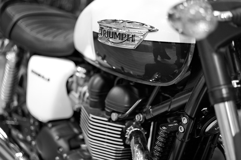 Triumph<br /> Leica Monochrom<br /> 50mm Noctilux<br /> 1/125sec @ f/0.95  ISO 1600