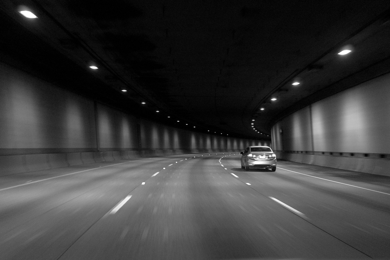 I-90 Tunnel, Midnight<br /> Leica X (1<br /> 1/8 sec @ f/1.7 ISO 3200