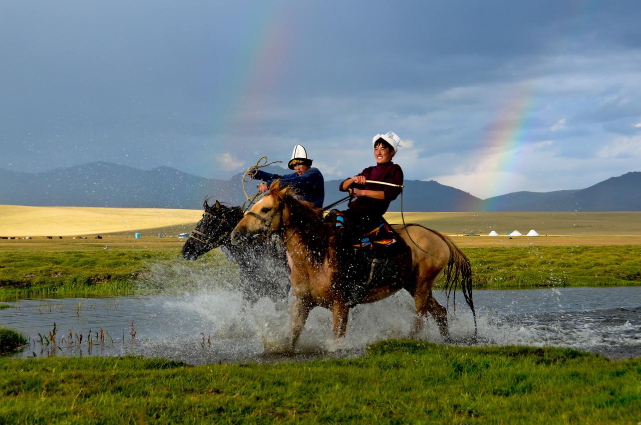 Lake Song Kol, Kyrgyzstan