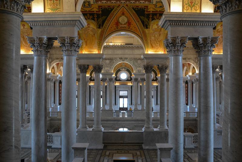 Library of Congress - Thomas Jefferson Building, Washington, DC,  1103,  June 27, 2015