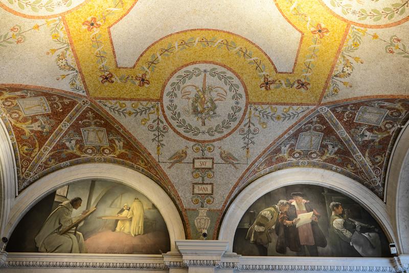 Library of Congress - Thomas Jefferson Building, Washington, DC,  1129,  June 27, 2015