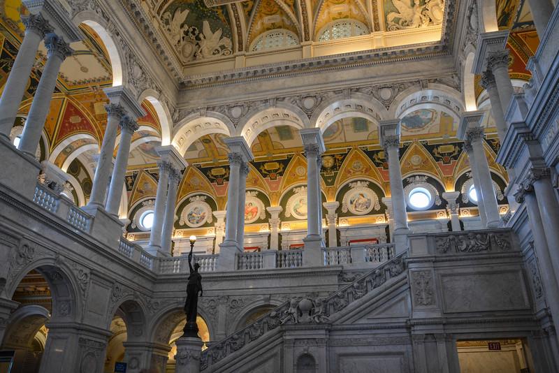 Library of Congress - Thomas Jefferson Building, Washington, DC,  1125,  June 27, 2015