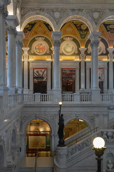 Library of Congress - Thomas Jefferson Building, Washington, DC,  1108,  June 27, 2015