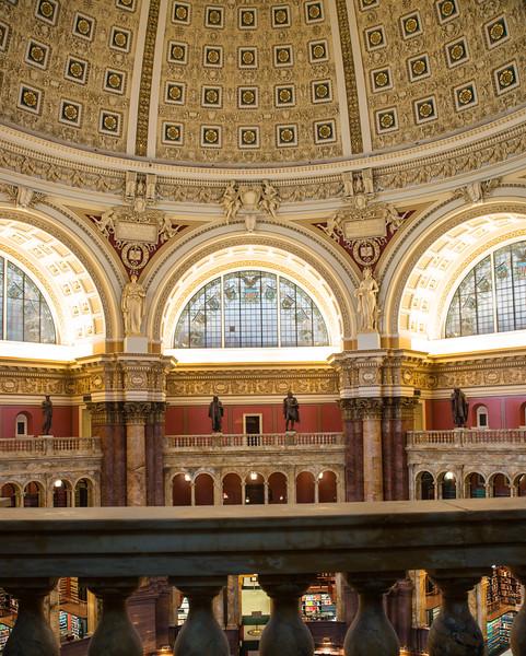 Library of Congress - Thomas Jefferson Building, Washington, DC,  1101,  June 27, 2015