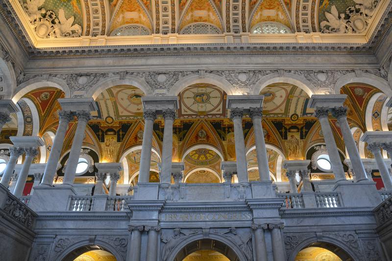 Library of Congress - Thomas Jefferson Building, Washington, DC,  1120,  June 27, 2015