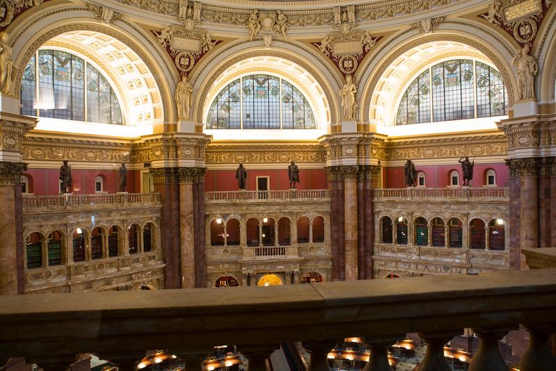 Library of Congress - Thomas Jefferson Building, Washington, DC,  1100,  June 27, 2015