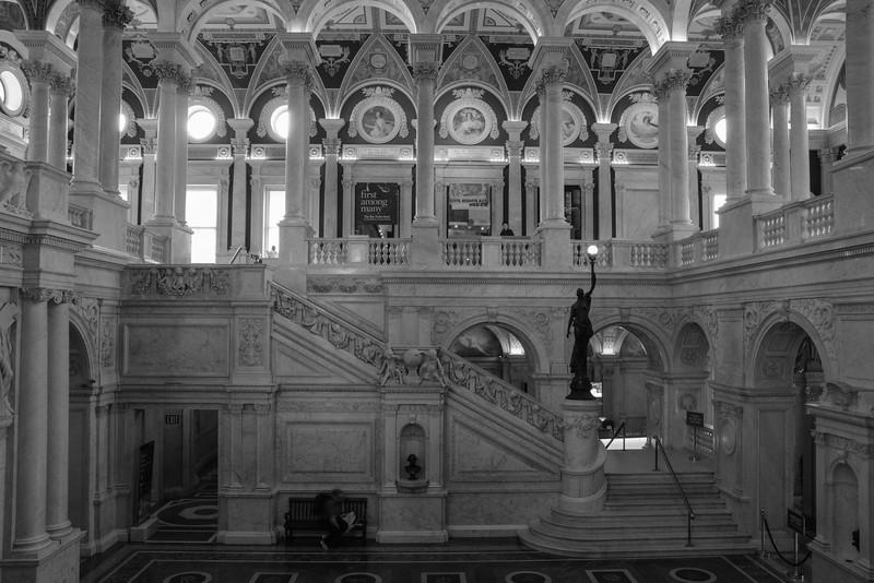 Library of Congress - Thomas Jefferson Building, Washington, DC,  1123,  June 27, 2015