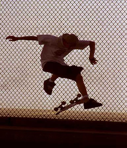 Kick Flip Fence