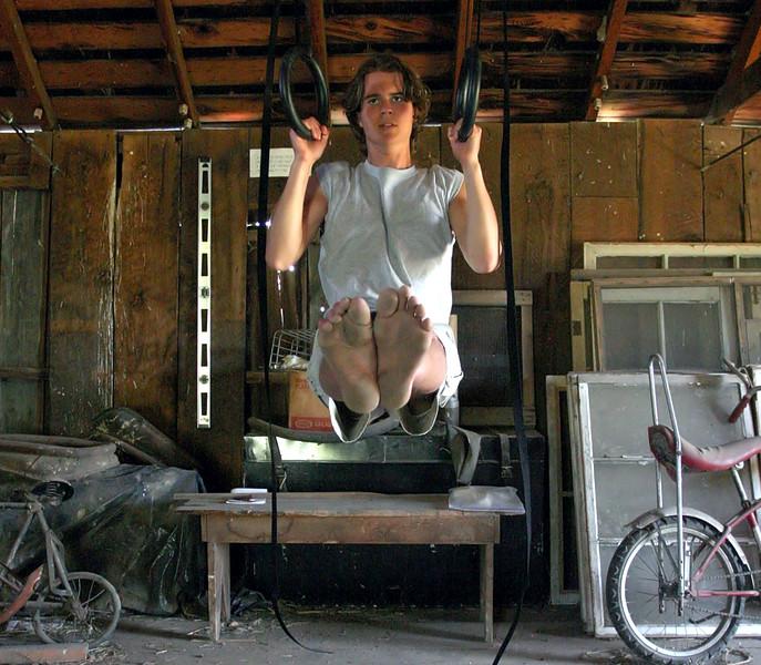 Workout Portrait