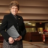 Lillie Mae Wieding, president of First State Bank,Three Rivers, Tx