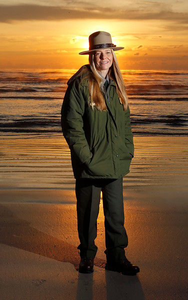 Donna Shaver/Chief of the Division of Sea Turtle Science and Recovery, at the Padre Island National Seashore.