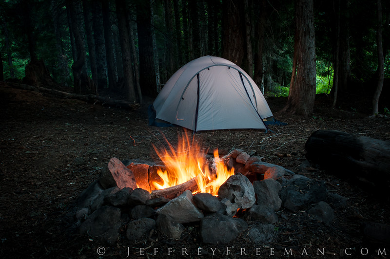 Camping in Oregon