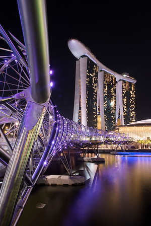 Marina Bay Sands Hotel,Singapore